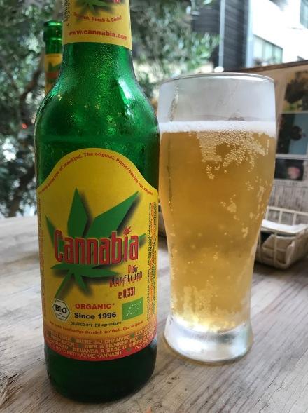 Cannabia pilsner beer