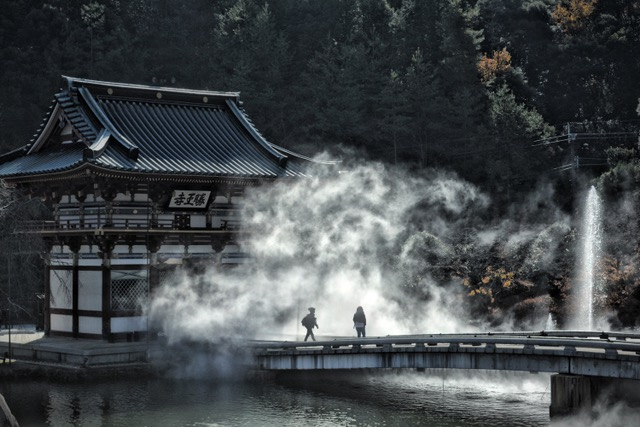 Katsuo-ji in Minoo, Japan. By Sydney Solis.