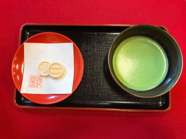 Stunning aesthetics in Japan! Life is for the here and now! Not the afterlife! Enjoy it! Macha tea from the Silver Pavillion in Kyoto. Japan travel