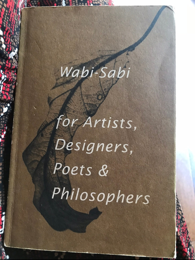 Wabi-Sabi for Artists, Designers, Poets & Philosophers by Leonard Koren, one of the amazing books at Yellin's gallery.