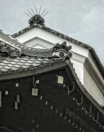 Yasaka Shinto Shrine Detail, Kyoto, Japan by Sydney Solis