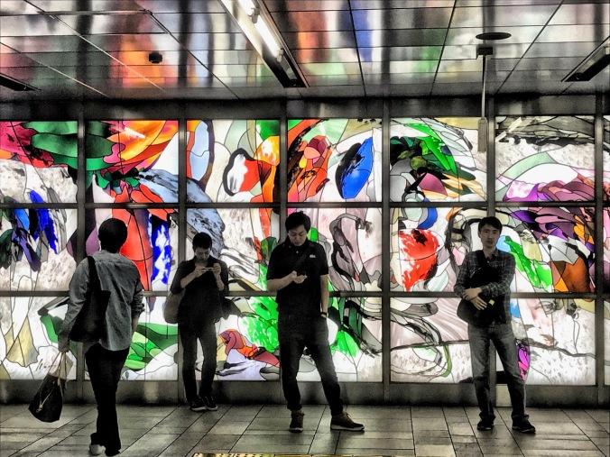 Subway, Tokyo, Japan by Sydney Solis
