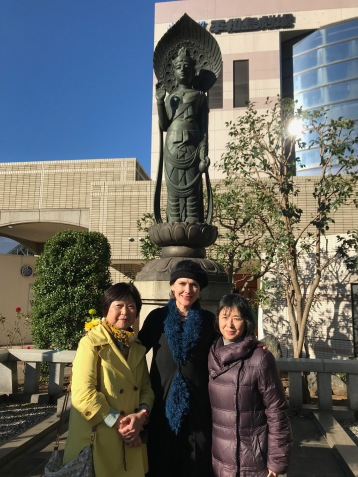 Camp Omori Japanese Goddess of Mercy Kannon with Japan POW Research Network