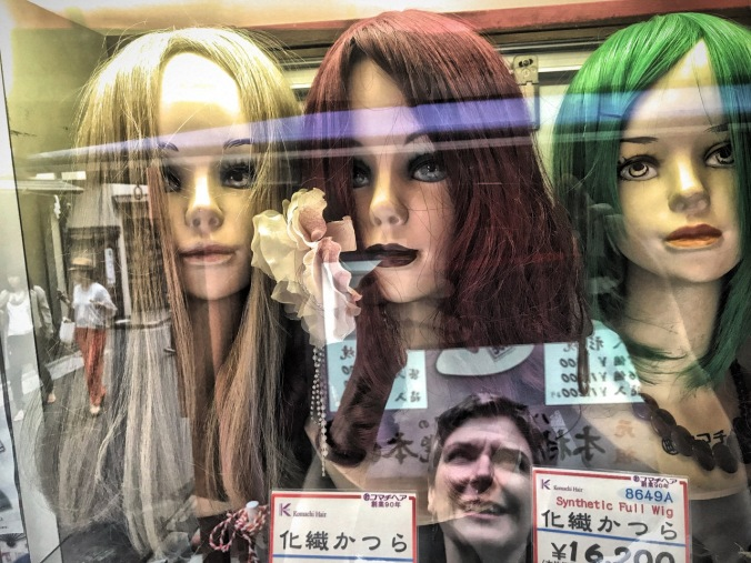 Self-portrait, Tokyo, Japan by Sydney Solis.