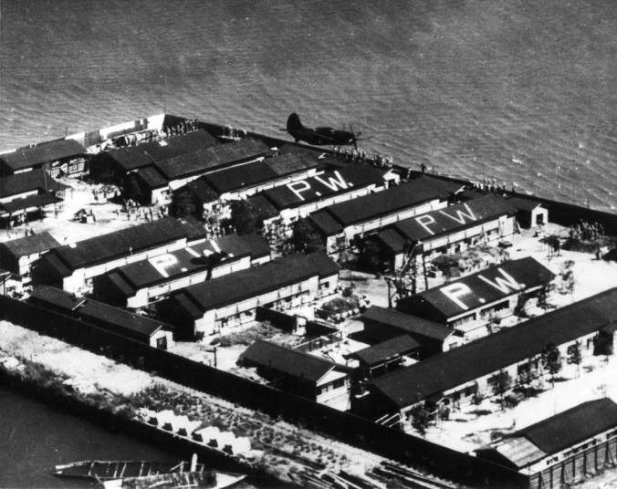 "The POW camp of Camp Omori of ""Unbroken"" fame, shortly after WW II. I have issues with the movie, but I'd say, based on my father's oral accounts of his experiences on Java, a lot was true. It is now Heiwa-jima, Peace Island."