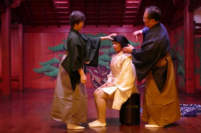Noh theatre Yamamoto Nohgakudo experience Osaka