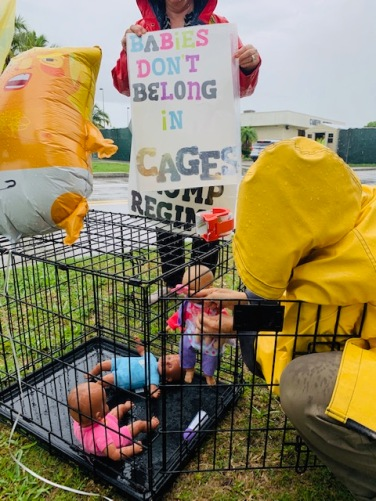 Amazing artists are such great activists! Babies don't belong in cages. RIGHT?!?!?! Trump is Hitler 2.0.