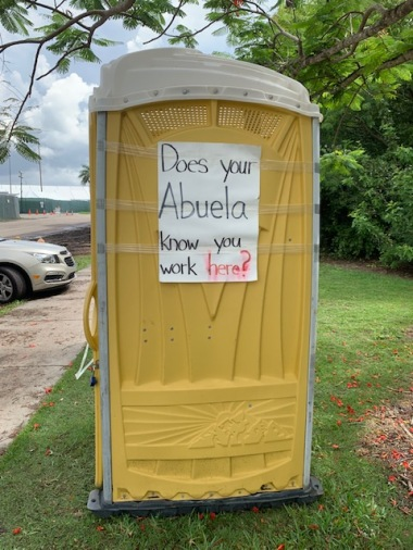Does Your Abuela Know You Work Here?