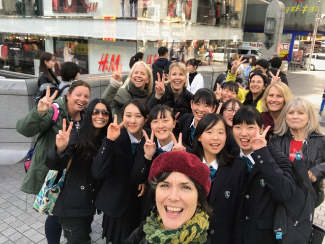 Making lots of friends on the Chic Kobe Photo Tour in Osaka, Japan