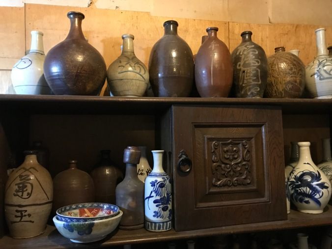 There is no shortage of Japanese ceramics here.
