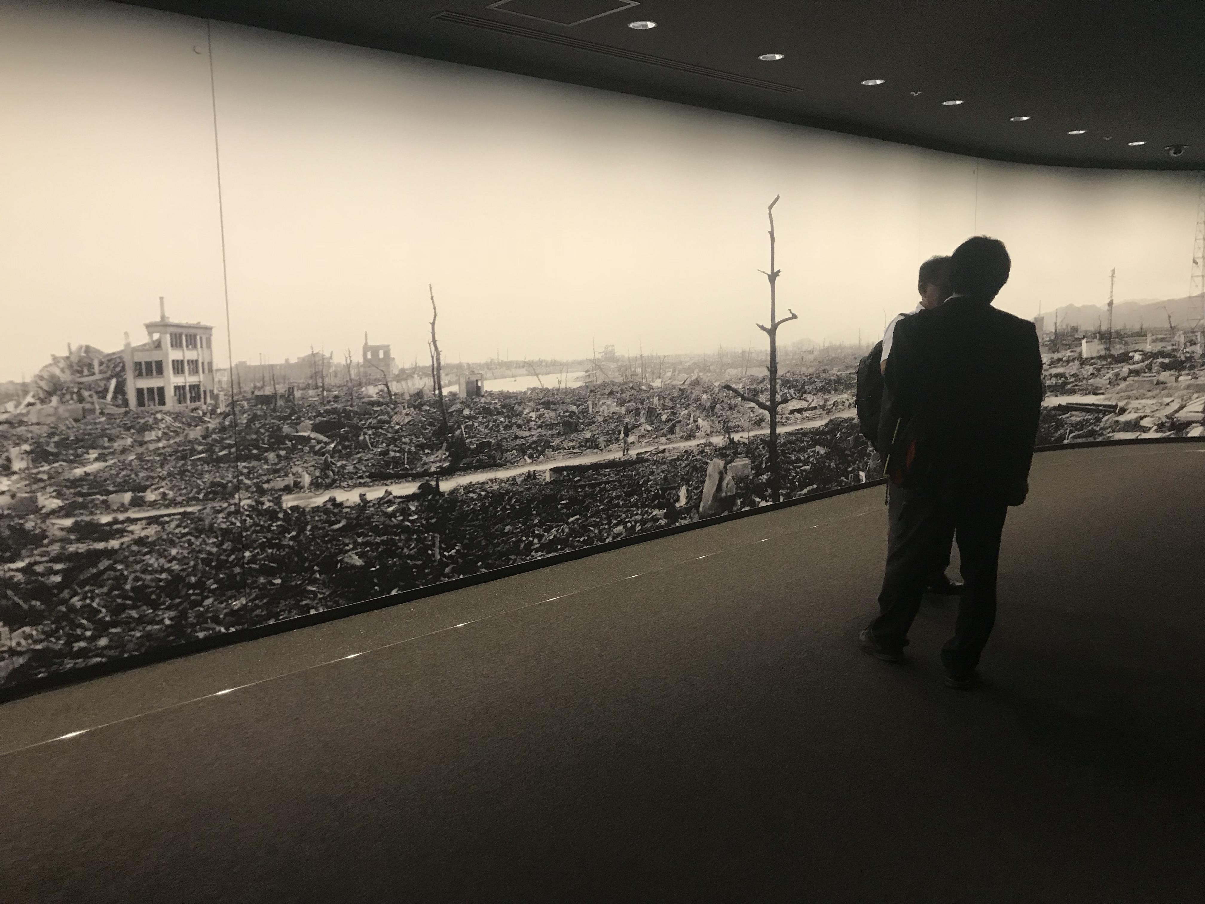 Hiroshima Museum, Japan.