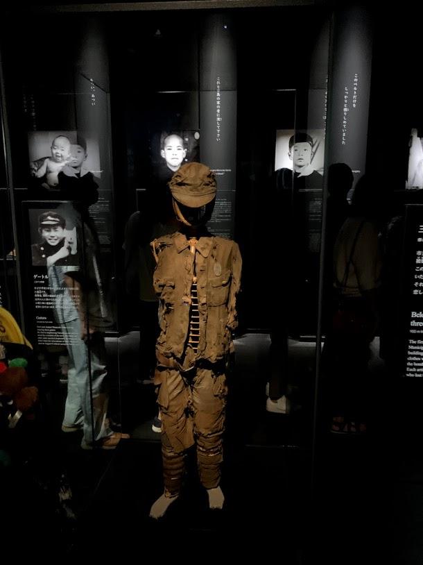 atomic bombing Japanese uniform