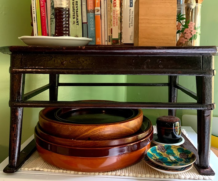 Japanese wooden trays