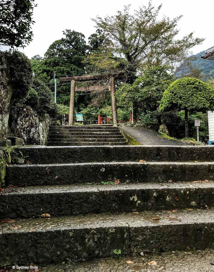 The Daimon-zaka is the Large Gate Slope Entrance on the Kumano Kodo pilgrim route in Wakayama Prefecture, Japan.