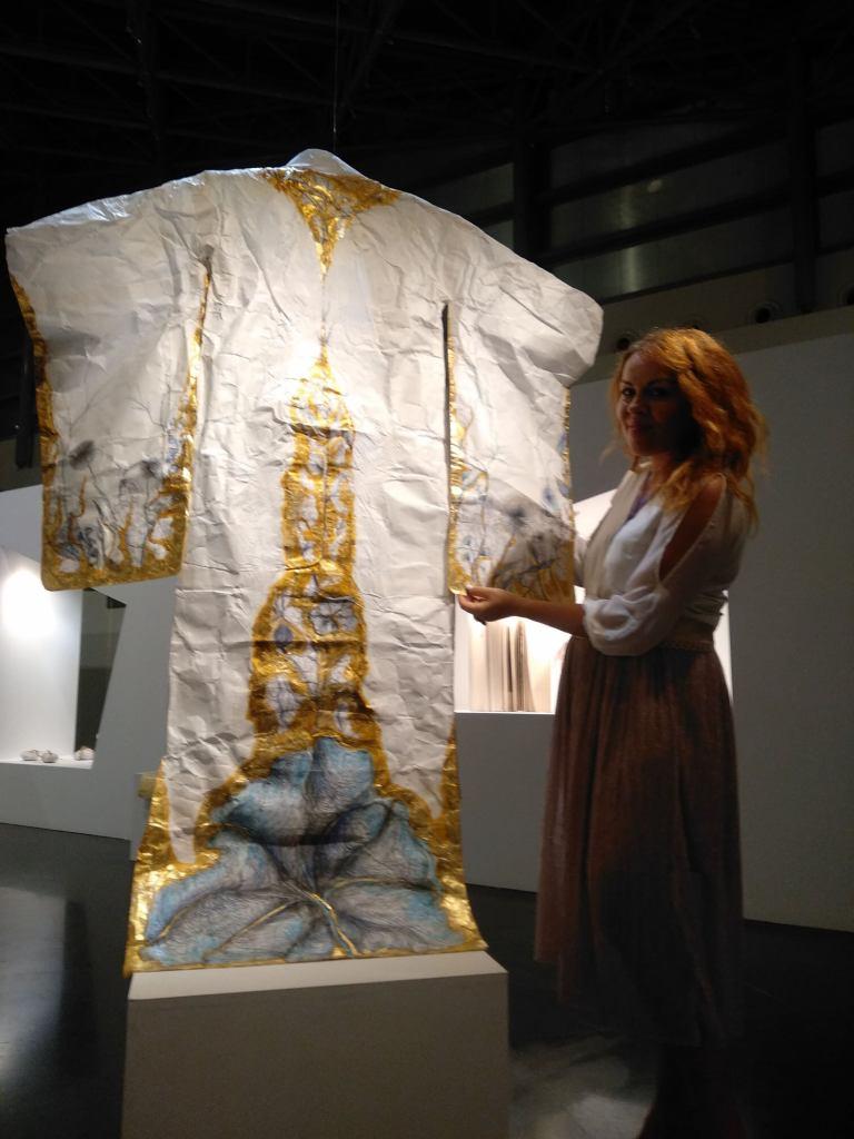 Maria Papatzelou's Washi Paper Kimono.