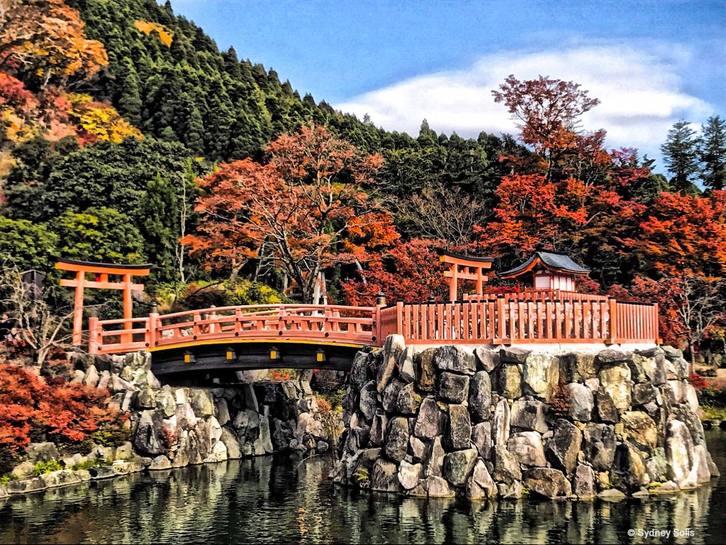 Autumn at Katsuoji, Minoo, Osaka,Japan by Sydney Solis