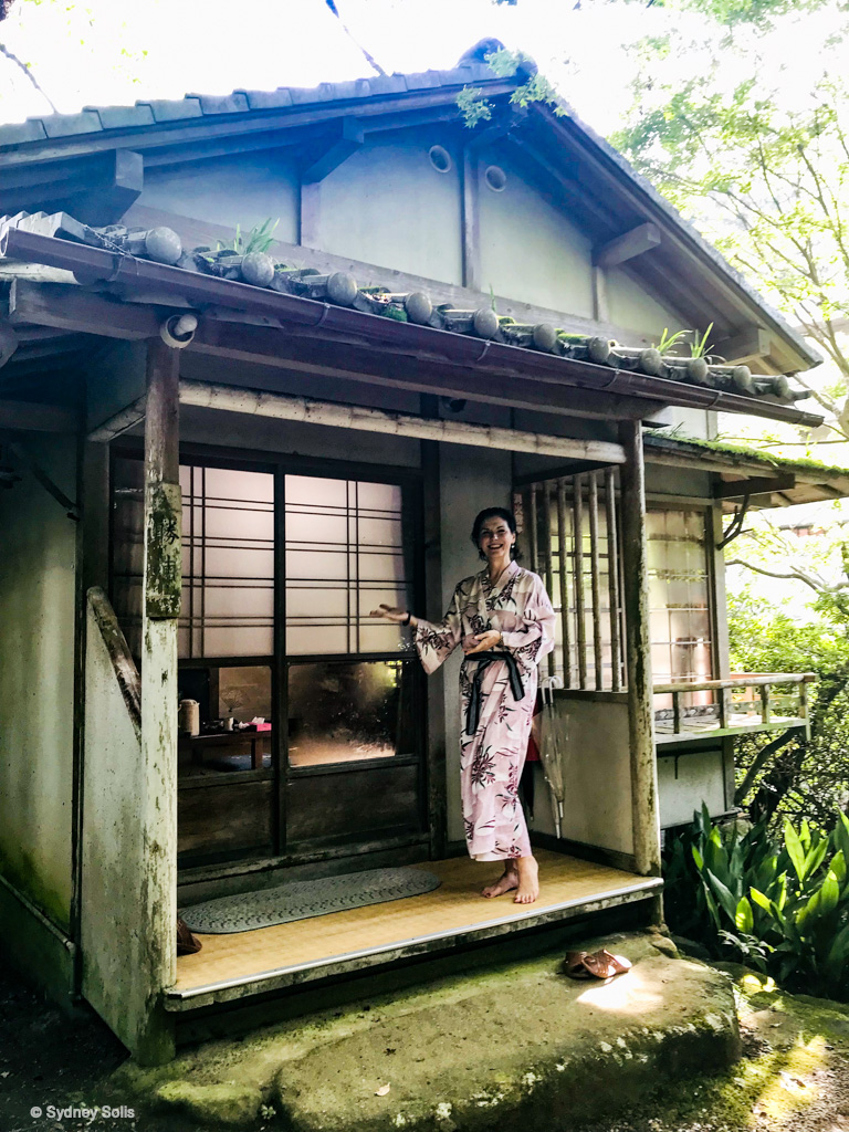 The Inunakaiyama Onsen in Osaka has dining area available to relax and enjoy kaiseki dining and a soak after your hike up the sacred mountain.